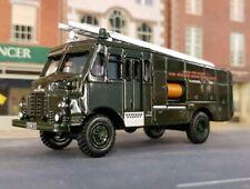 1953 Bedford RLHZ Green Goddess Fire Tender Engine 1:76 OO/00 Scale Model Oxford