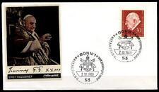 Papst Johannes XXIII. FDC(2). BRD 1969