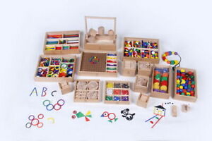 FROEBEL GIFTS - Complete 14 Activity Set - Commercial Heavy Duty Set