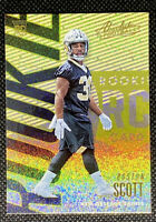 BOSTON SCOTT 2018 Panini Absolute Gold  #114 ROOKIE RC New Orleans Saints B1