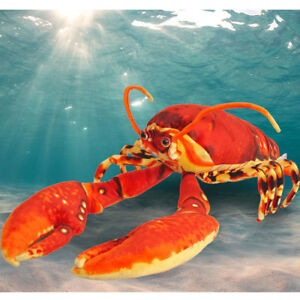 New Big Lobster Stuffed Animal Plush Soft Toy Doll Pillow Cushion Bithday gift