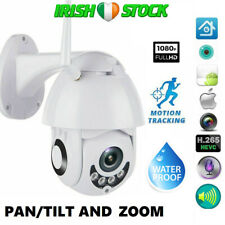 1080P Wireless WiFi IP Camera Full HD 2MP Outdoor 5X Zoom Pan Waterproof CCTV