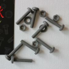100 viti nylon testa esagonale M4x20 vis screws tornillos Schrauben polyamide