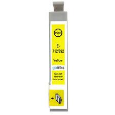1 Yellow Ink Cartridge for Epson Stylus D78 DX5050 DX9400 SX105 SX218 SX415