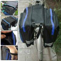 Cycling Rear Rack Seat Trunk Saddle Bike Tail Storage Pannier Pouch Bicycle Bag.