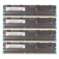 4pcs For Hynix 2RX4 8GB DDR3 1333MHz PC3L-10600R Reg-DIMM ECC Server Memory RAM