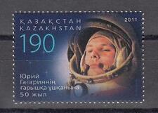 Space Kazakhstan Kasachstan 2011 MNH** Mi. 704 Juri Gagarin