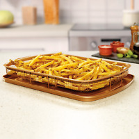 Gotham Steel Pro XL Crisper Tray Get Crispy Foods in Your Oven