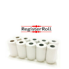 Credit card rolls 2 1/4 x 50 thermal paper 10 rolls