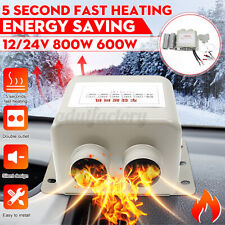 24V 600W Car Truck Fan Heater Defroster Demister Heating Warmer Windscreen Dryer