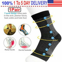 Dr Sock Soothers Socks Anti Fatigue Compression Foot Sleeve Support Brace Sock