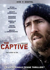 THE CAPTIVE DVD + Digital Copy - Brand New/Sealed - Ryan Reynolds Rosario Dawson