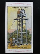 No.45 PORTABLE SEARCH LIGHT The Great War Series REPRO of Gallaher 1915