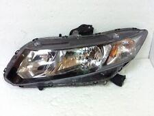 2012 - 2015 HONDA CIVIC LEFT DRIVER HALOGEN SEDAN HEADLIGHT LAMP LIGHT OEM Z1072