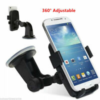 360° Car Windshield/Dashboard/Air Vent Mount Cradle Holder For all Cell Phones &