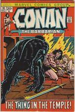 Marvel Comics Conan The Barbarian Volume One (1970 Series) #18 Fn+ 6.5