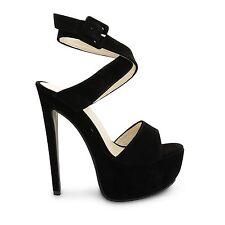 Markenlose Sandalen mit Absatz größer als 8 cm für Damen