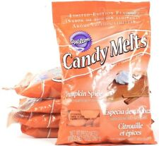 5 Packs Wilton Limited Edition Flavor 10 Oz Pumpkin Spice Candy Melts