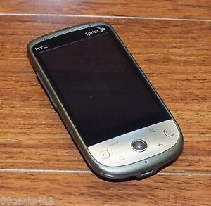 "HTC Hero - Gray (Sprint) 5.0MP 3.2"" Screen CDMA Smartphone Only **READ**"