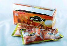 3 X Boxes Coffee Gano Excel Ganocafe Mocha Ganoderma Free Expedite Shipping
