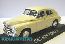 1:43 GAZ M20 POBEDA _ DeAgostini Collection