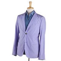 NWT $1850 GIORGIO ARMANI Lavender Blue Lightweight Cotton-Silk Sport Coat 38 R
