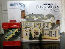 Dept 56 National Lampoon's Christmas Vacation House and Cousin Eddie's RV Orn