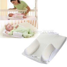 Baby Infant Newborn Airflow Sleep Positioner Anti Roll Pillow Fixed Flat Head