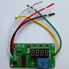 Automation Delay 12V Multifunction Self-lock Relay Cycle Timer Module Plc Wiring