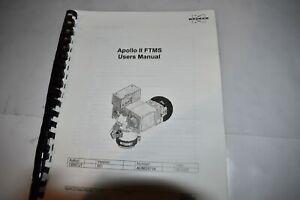 BRUKER APOLLO II FTMS USER'S MANUAL (M421)