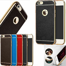 Luxury Ultra-thin Leather Soft TPU Back Case Cover For Apple iPhone 7 6 Models