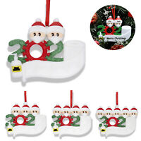 Diy Personalized Christmas Ornament 2020 Hanging Ornaments Family Gift