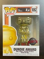 FUNKO POP THE OFFICE DUNDIE AWARD CUSTOMIZABLE SPECIAL EDITION EXCLUSIVE IN HAND