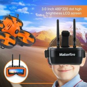 5.8Ghz Mini FPV Goggles 3 Inch 40CH FPV Video Headset Glasses for FPV RC Drone