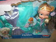 Disney Frozen Deluxe Toddler Dress and Elsa  New My First Princess