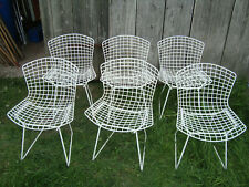 6 vintage HARRY BERTOIA Side Chairs 420  Knoll International 70s