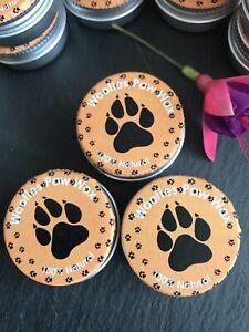 100% Natural 10g Dog Paw Nose Skin Balm Pet Care Grooming Lavender