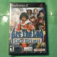 ARC THE LAD End of Darkness PlayStation 2 (*Flaw=Pic#5) *NEW*