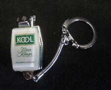 Vintage Kool Filter Kings Cigarette Key Chain Nail Clippers