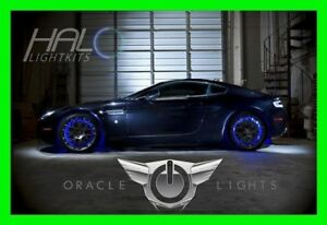 BLUE LED Wheel Lights Rim Lights Rings by ORACLE (Set of 4) for BUICK MODELS