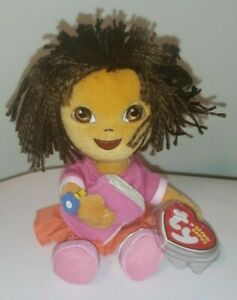 Ty Beanie Baby - DORA the EXPLORER (Back to School)7 Inch) MINT with MINT TAGS