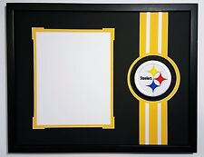 Pittsburgh Steelers 14x18 mat for 8x10 photo. Le'veon Bell Antonio Brown