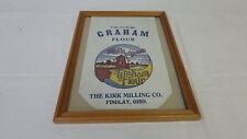 Old Advertising Graham Flour BAG The King Milling Co, Findlay, OH 5 lbs