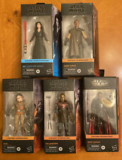 Star Wars 5- Black Series Mandalorian 6? Figures With Rey Dark Side Vision !!!
