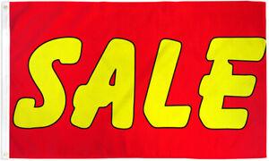 Sale Flag 3x5 Sale Banner Sign Bandera de Venta Advertising Sale Flag Red Yellow