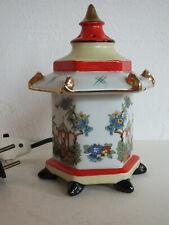 Rauchverzehrer de porcelana-pagode-Gerold & Co./Tettau