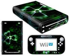 Nintendo Wii U Skin Design Foils Aufkleber Schutzfolie Set - Nuclear 2 Motiv
