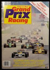 Grand Prix Racing Daily Mail magazine 1987 Fangio Racing Cars F1