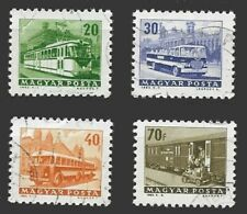 LH22 - Hungary 1963 transportation  stamps  selection