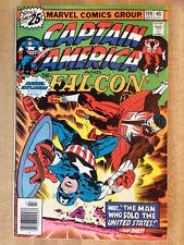 CAPTAIN AMERICA #199 VF 1976 Falcon Jack Kirby Monogram Model Corvette Ad L@@K!